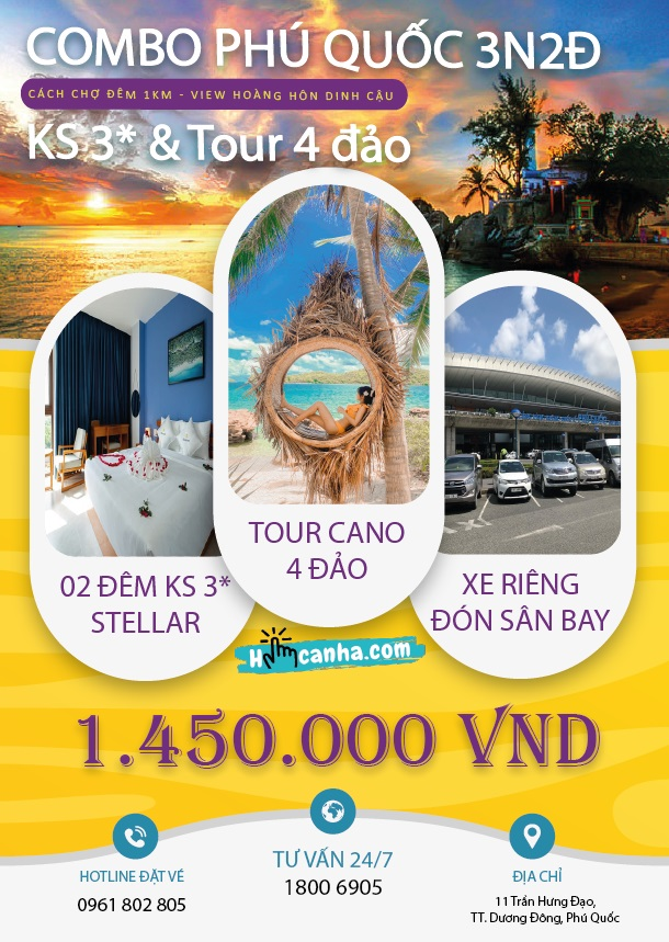 combo tour du lịch